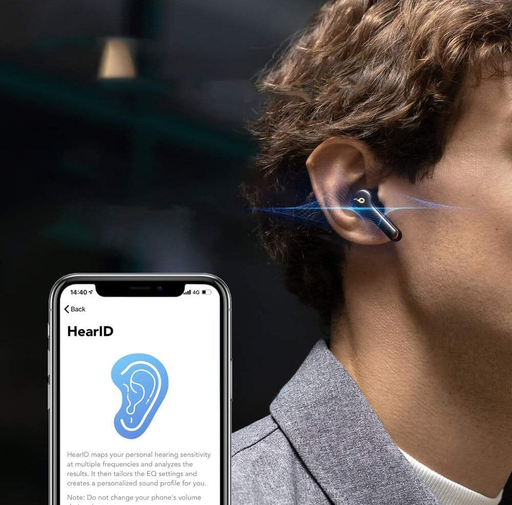 【Anker Soundcore Liberty Air 2レビュー】Qiワイヤレス充電対応!7時間連続再生でタッチ操作のカスタマイズも魅力的な第二世代・完全ワイヤレスイヤホン|優れているポイント:ユーザーに最適な音質に調整してくれるHearID機能