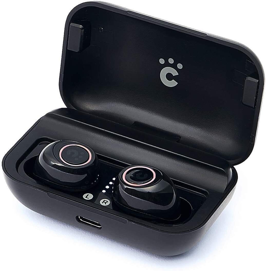 【Cheero Wireless Earphones (CHE624)レビュー】超高コスパなCheero製完全ワイヤレスイヤホン!必要十分な性能と良心価格で入門機に最適|製品の公式画像