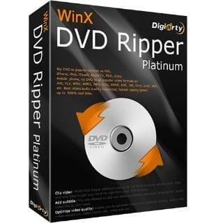【DVDコピーソフトまとめ】無料で使えるフリーソフトから強力コピーガードを難なく突破する有料ソフトまで厳選!パソコンで使えるおすすめDVDコピーソフト|WinX DVD Ripper Platinum【有料】:製品パッケージ