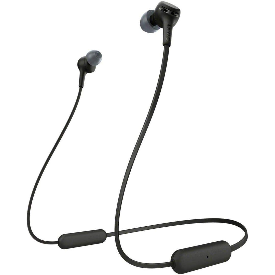 【ソニー WI-XB400レビュー】大人気ワイヤレスイヤホンWI-C310の低音強化版!15時間再生&急速充電と大迫力Extra Bassが自慢の左右一体型Bluetoothイヤホン|製品の公式画像