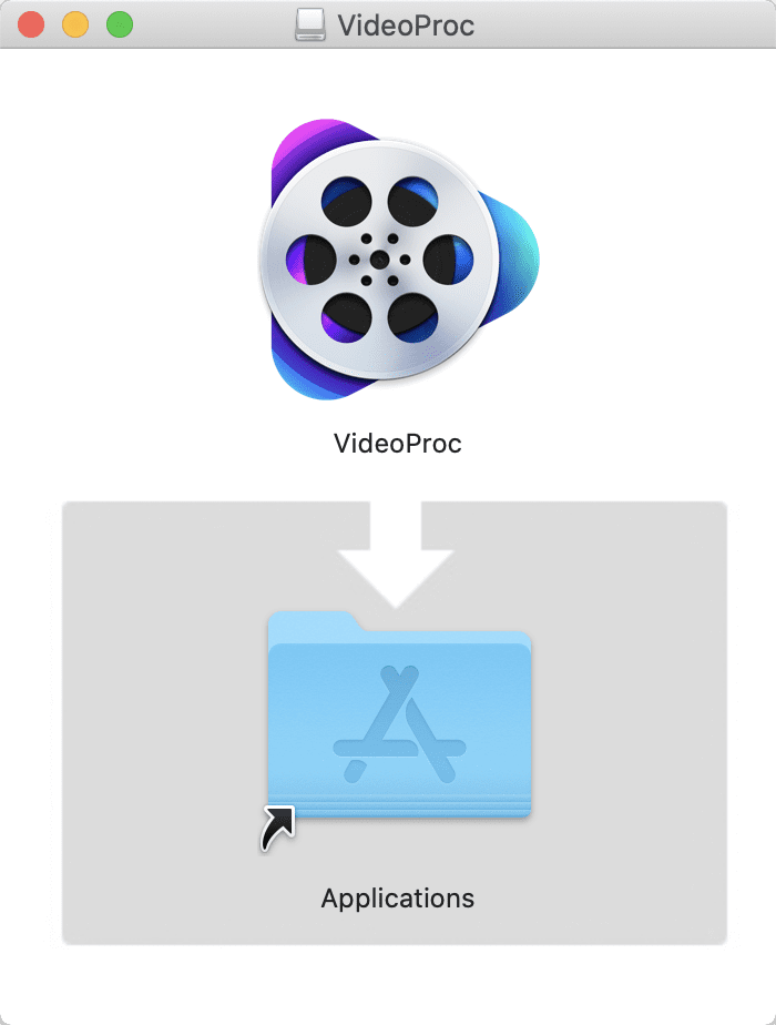 【DVDコピー方法Mac版】MacでレンタルDVDをリッピングしてパソコンに取り込む方法|Macはシュリンク非対応なのでVideoProcで一発コピー!|ソフトをインストールする:Mac版「VideoProc」をインストールする