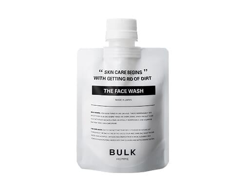 【バルクオム:洗顔・化粧水・乳液セットを使って分かった確かな品質】BULK HOMMEとは?500円で試せる男性に最適化されたスキンケア用品「バルクオム」|バルクオムのスキンケア用品:THE FACE WASH(洗顔料)