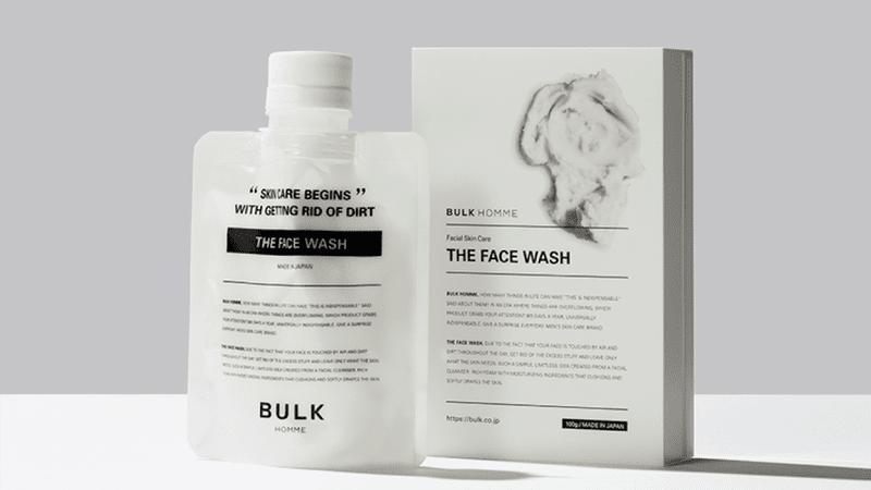 【バルクオム洗顔料の効果・使い方】バルクオムの洗顔料「THE FACE WASH」の効果や使い方を徹底解説|500円お試しセットでBULK HOMMEの良さを実感!|確かな効果を実感できる「バルクオム」の洗顔料