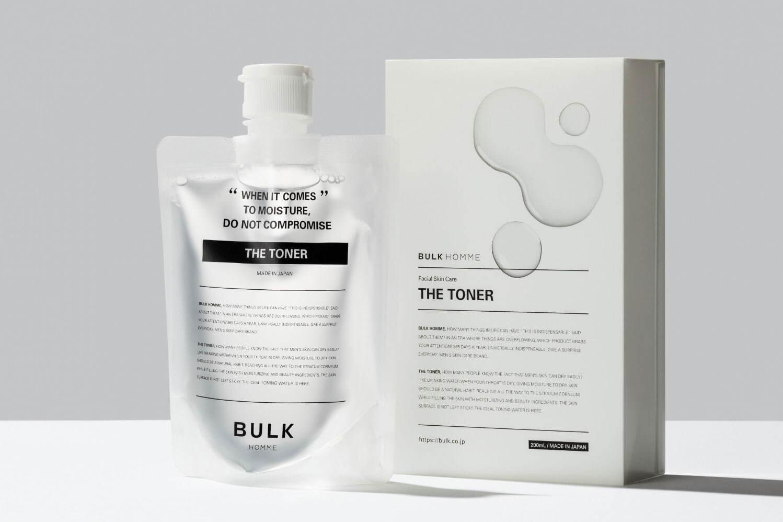 【バルクオム化粧水の効果・使い方】バルクオムの化粧水「THE TONER」の効果や使い方を徹底解説|500円お試しセットでBULK HOMMEの良さを実感!|確かな効果を実感できる「バルクオム」の化粧水