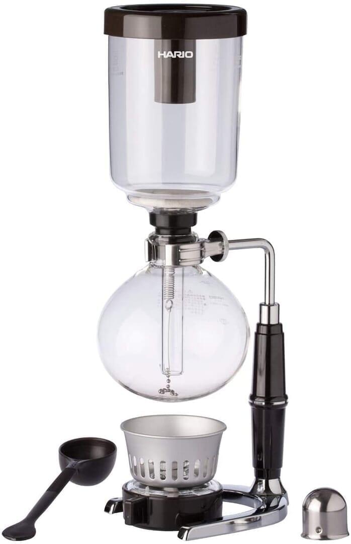 【コーヒー器具まとめ】コーヒーをハンドドリップする際に必要な器具は?本格的なハンドドリップコーヒーを自宅で淹れる際に揃えたいアイテムをご紹介|ハンドドリップ以外のドリップ法について:サイフォン