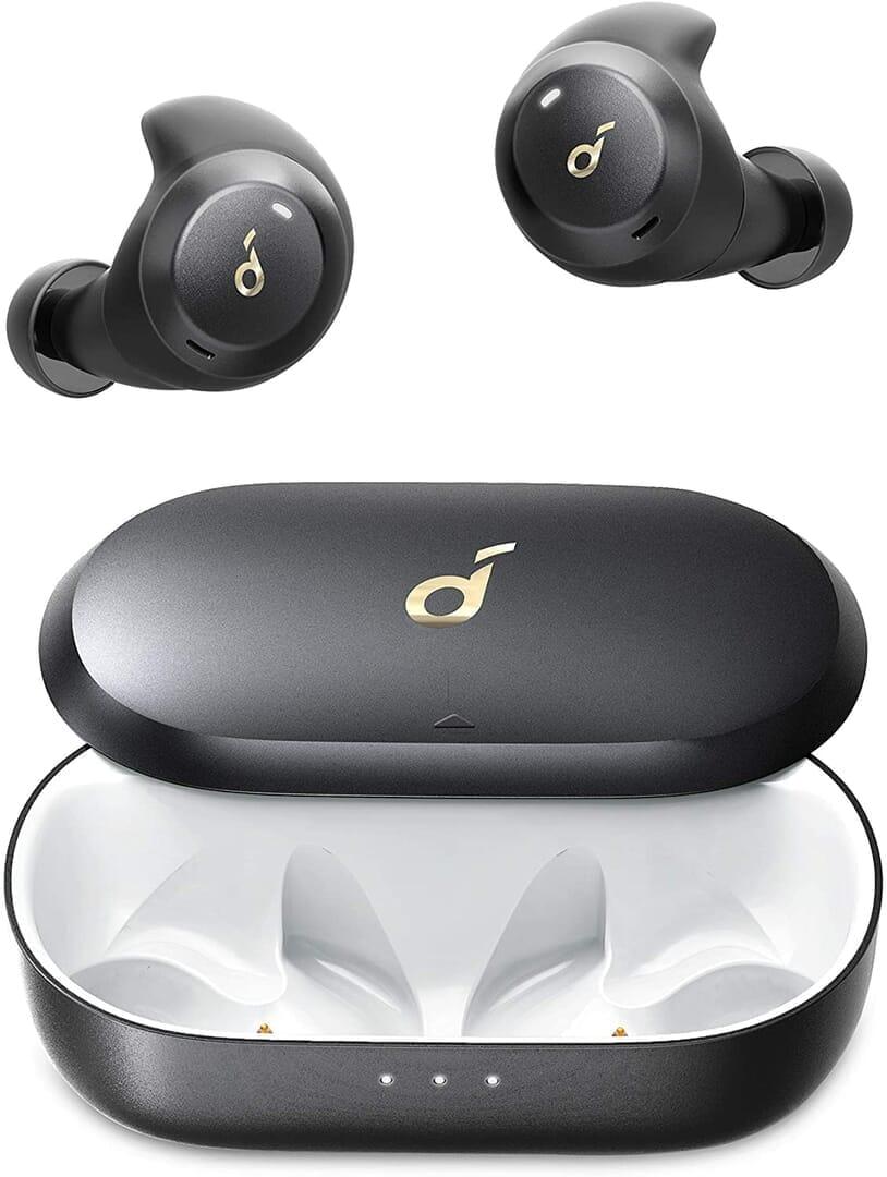 【Anker Soundcore Spirit Dot 2レビュー】スポーツ向けワイヤレスイヤホンの最適解!?完全防水で最大5.5時間連続再生&急速充電可能な完全ワイヤレスイヤホン|製品の公式画像