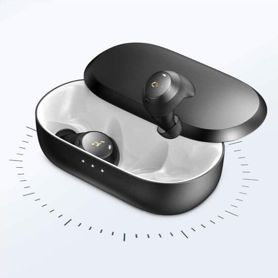 【Anker Soundcore Spirit Dot 2レビュー】スポーツ向けワイヤレスイヤホンの最適解!?完全防水で最大5.5時間連続再生&急速充電可能な完全ワイヤレスイヤホン|優れているポイント