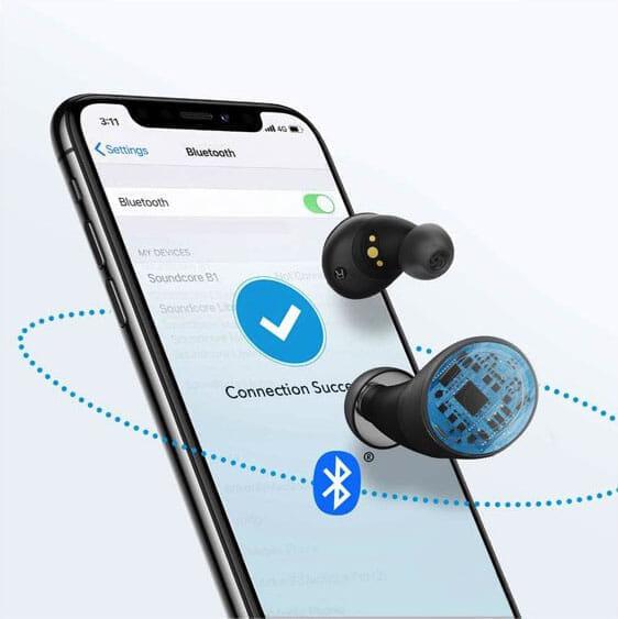 【Anker Soundcore Spirit Dot 2レビュー】スポーツ向けワイヤレスイヤホンの最適解!?完全防水で最大5.5時間連続再生&急速充電可能な完全ワイヤレスイヤホン|優れているポイント:高い接続安定性・低遅延性