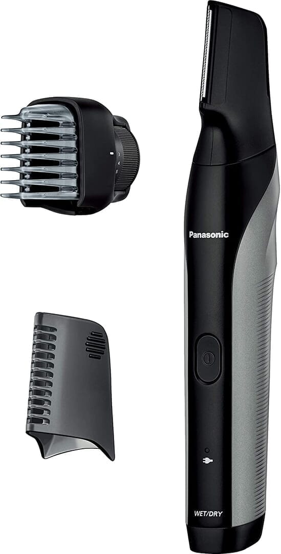 【ボディトリマーER-GK81レビュー】すね毛からアンダーヘアまで処理できる!メンズグルーミングに最適なパナソニック製ボディトリマー|チクチクしない剃り味|製品の公式画像