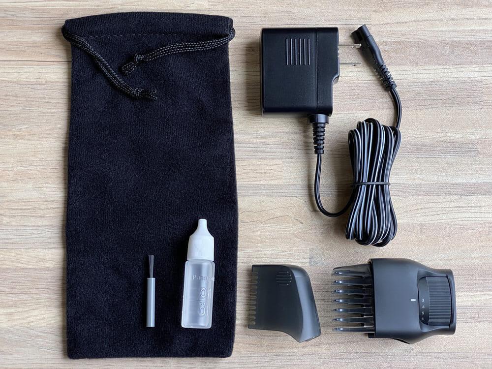 【ボディトリマーER-GK81レビュー】すね毛からアンダーヘアまで処理できる!メンズグルーミングに最適なパナソニック製ボディトリマー|チクチクしない剃り味|付属品