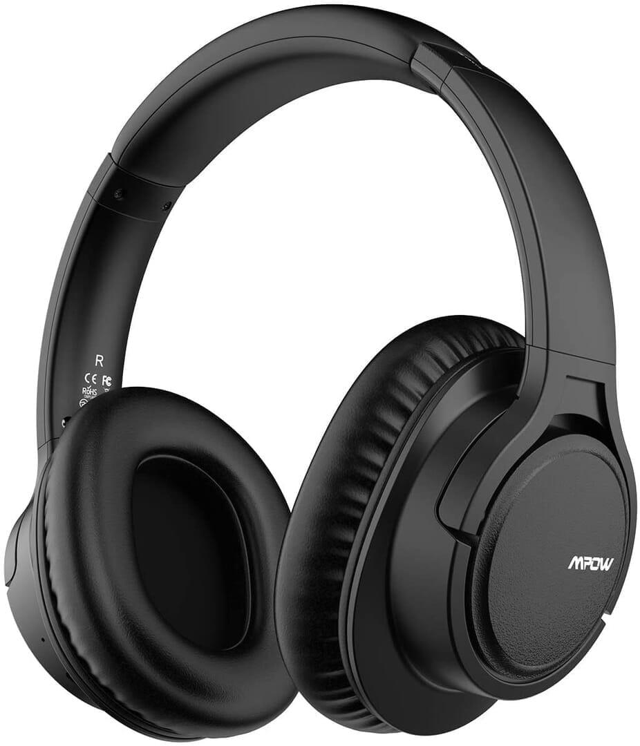 【Mpow H7レビュー】低価格帯の密閉型Bluetoothヘッドホン決定版!40mmドライバーが奏でる高音質サウンドと快適な無線接続を実現させた高コスパヘッドホン|製品の公式画像