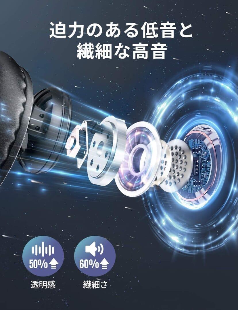 【Mpow 059 Liteレビュー】超軽量218gを実現!優れた基本性能と良心価格を両立させた高コスパワイヤレスヘッドホン|全米大ヒットのヘッドホンが日本上陸!|優れているポイント