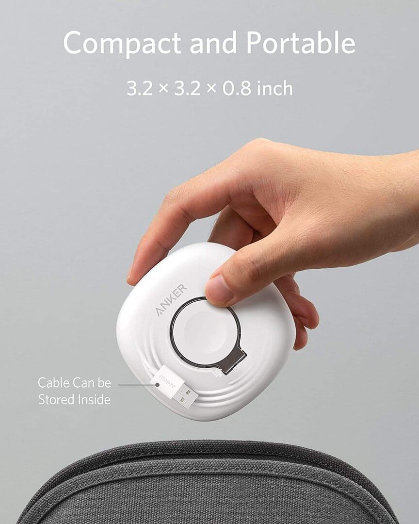 【Anker Apple Watchドック型磁気充電器レビュー】充電製品のパイオニアAnker製アップルウォッチ充電器が登場!幅広いシリーズ対応のMagnetic Charging Dock|製品の特徴