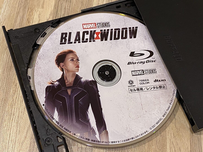 Blu-rayコピー性能を検証:ディズニー作品『ブラック・ウィドウ』をISO形式で丸ごとコピーできました。
