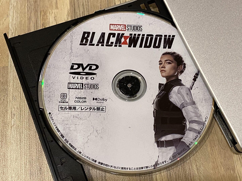 DVDコピー性能を検証:ディズニー作品『ブラック・ウィドウ』をISO形式で丸ごとコピーできました。