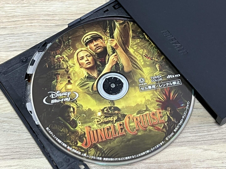 Blu-rayコピー性能を検証:ディズニー作品『ジャングル・クルーズ』をISO形式で丸ごとコピーできました。